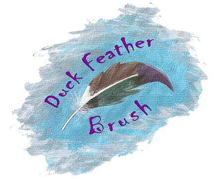 Duck Feather Brush