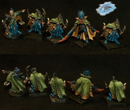 Dark Elf Corsairs no bases